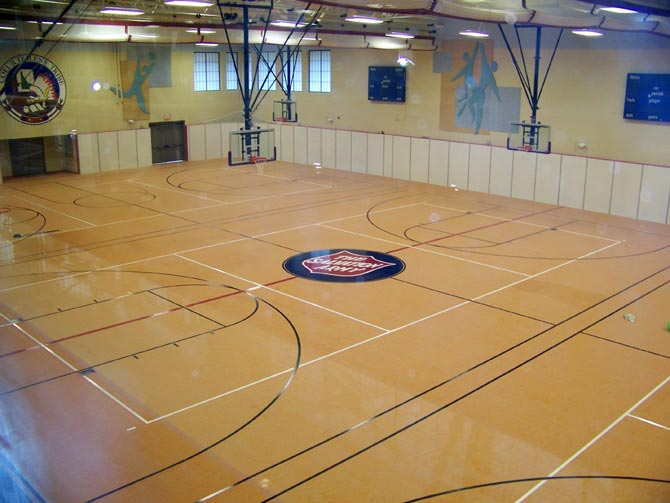 synthetic gym flooring